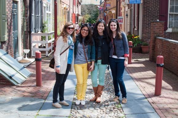 Philadelphia Visit Elfreths Alley Lifestyle Photographer Photo