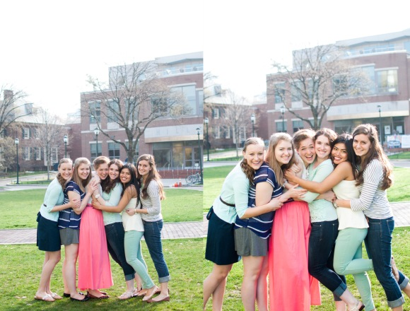 University of Pennsylvania Philadelphia Friends Portrait Session Photographer Alison Dunn Photography photo