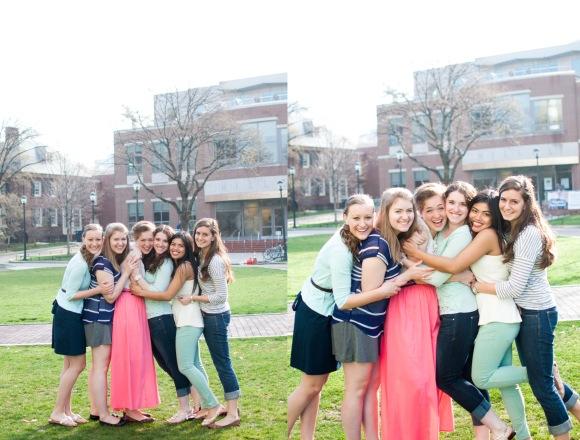 University of Pennsylvania Philadelphia Friends Portrait Session Photographer Alison Dunn Photography photo