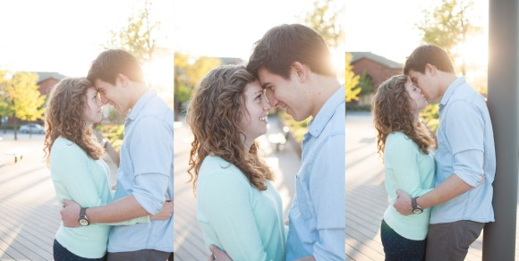 Corey Carolyn Philadelphia Engagement Session Wedding Photographer Race Street Pier photo